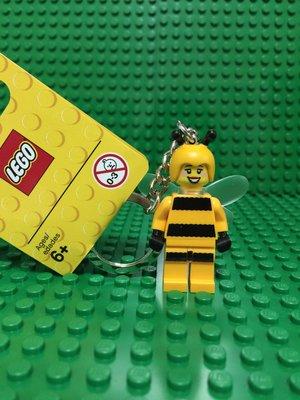【樂購玩具雜貨鋪】LEGO 樂高 853572 Bumble Bee keychain 蜜蜂女鑰匙圈