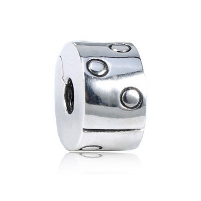 凱莉代購 Pandora 潘朵拉 S925純銀新款手鍊diy珠子配件素銀素銀圓圈定位扣  預購特價