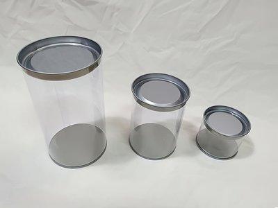 【♥豪美包材♥】馬口鐵透明圓桶-尺寸:...