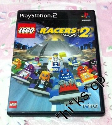 Play Station 2 (PS 2) 超好玩 樂高賽車2 Lego Racers 2