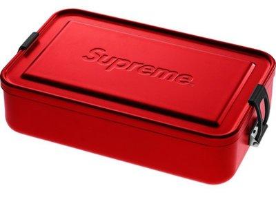 ~美國鞋校~ Supreme SIGG Large Metal Box Plus 大鐵盒 便當盒 SS18A25