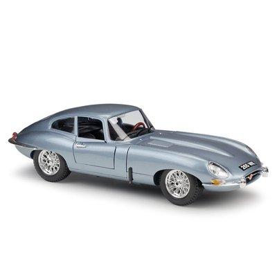 阿米格Amigo│捷豹 Jaguar E-Type Coupe跑車 1:18 4開門 比美高 合金車 模型車 12044