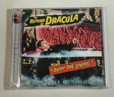 """Return of Dracula/I Bury..  -2CD""- Gerald Fried,全新美版,R34"
