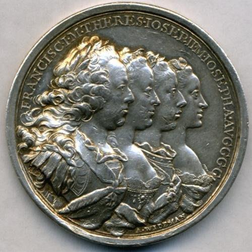 奧地利銀章 1765 Austria Imperial Visit to Innsbruck Silver Medal.