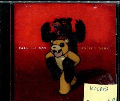 *真音樂* FALL OUT BOY / FOLIE A DEUX 二手 K16800 (封面底破)