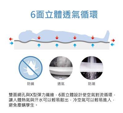 【偉儷床墊工廠】【6D透氣涼墊、露營墊、野餐墊】~枕墊43x65x1cm