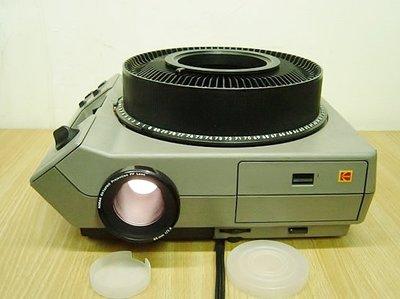 【小劉二手家電】有遙控器的KODAK 幻燈片投影機,幻燈機,可定時2-24秒間格播放,82W,300W,附皮箱