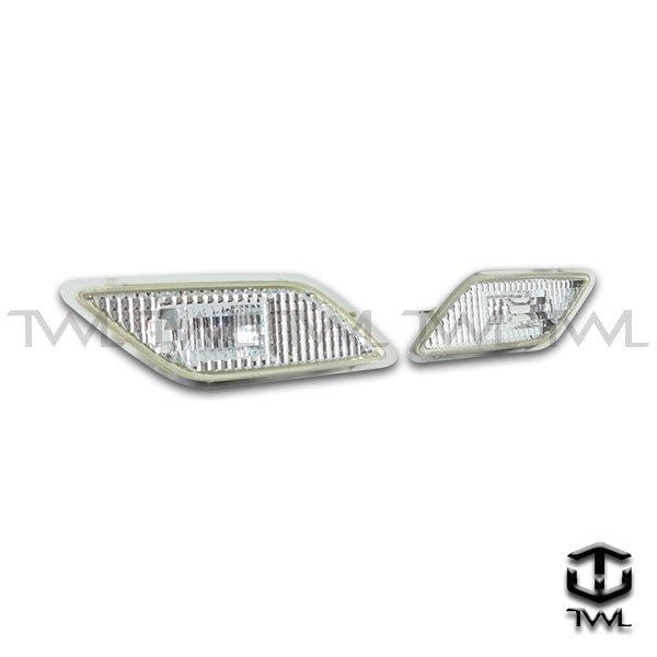 《※台灣之光※》全新BENZ W212 E350 E63 E550 AMG美規晶鑽超亮白光LED保桿側燈組台灣製