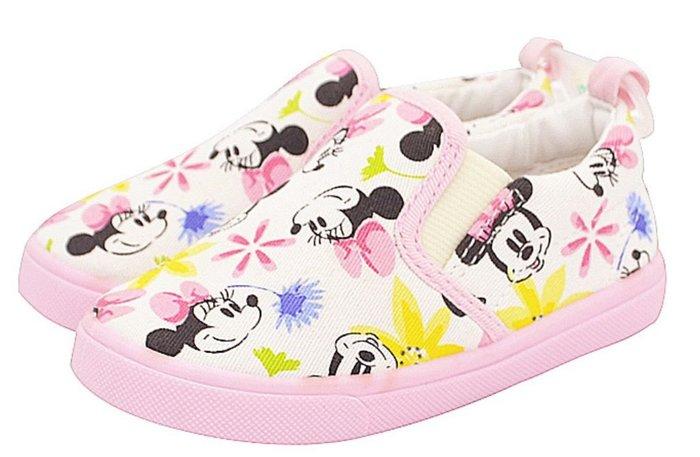 米妮布鞋兒童休閒懶人鞋帆布鞋板鞋樂福鞋( 孩童區 ) /CG12