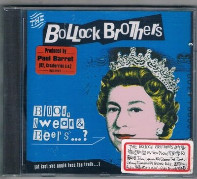 [鑫隆音樂]西洋CD-THE BOLLOCK BROTHERS / BLOOD,SWEAT & BEERS {74321314462}