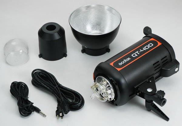 呈現攝影-Godox 新版QT-400 高速閃光燈 棚燈 400W GN65 高速攝影/連拍 回電快 USB控制 公司貨