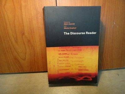 【愛悅二手書坊 O-03】  The Discourse Reader