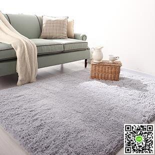 毛地毯 加厚 可水洗 不掉色 絲毛地毯地墊客廳茶幾臥室床邊地毯 MKS