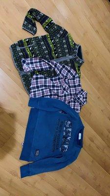 日本長袖衣保暖 (適身高140-150cm) 3件共500元