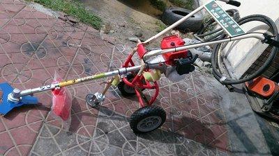 全新U-MO日本丸山50CC大馬力三輪推式割草機(輕巧/靈活/折疊收納/障礙物多的環境設計--免運費