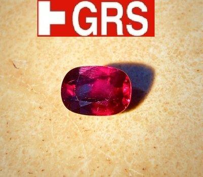 【台北周先生】天然紅寶石 3.03克拉 無燒 頂級Vivid red 莫桑比克產 送GRS證書 go