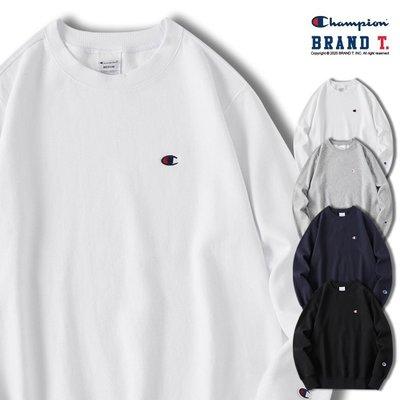 【Brand T】日版 CHAMPION BASIC CREW C3-C019 刺繡 LOGO 大學T 衛衣 經典 4色 新北市