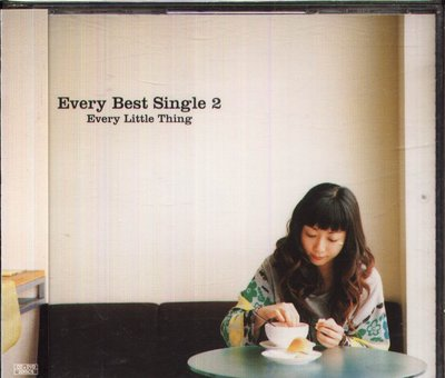 K - Every Little Thing 小事樂團 Every Best Single 2 - 日版 CD+DVD