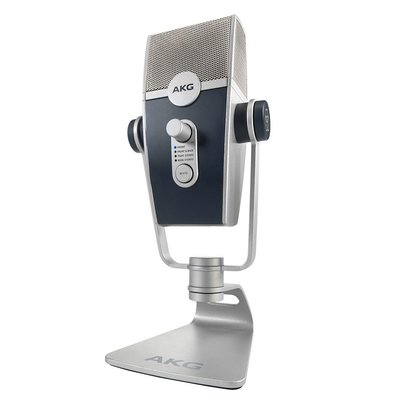 【音響世界】AKG Lyra手機直播立體聲麥克風 U-HD 4K 24bit/192KHz高取樣多收音模式USB MIC