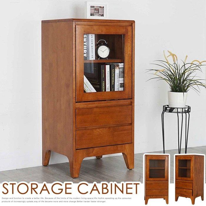 克林實木置物櫃-柚木色 收納櫃 書櫃 半高櫃【Yostyle】SH-1824T