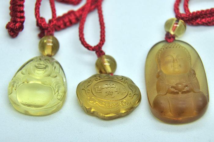 緬甸琥珀 棕紅珀 紫羅蘭珀 金棕珀 金棕珀寶寶佛+金棕珀寶寶鎖+高白藍彌勒佛