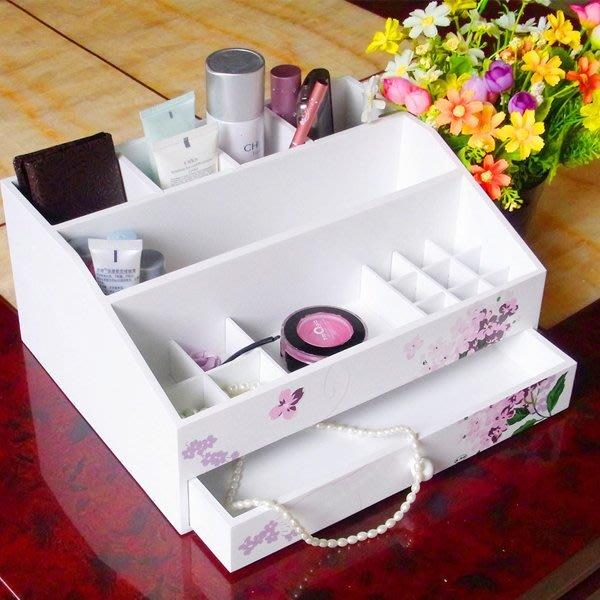 5Cgo【鴿樓】會員有優惠  21916196521 歐式風格公主歐式首飾盒 手繪木制化妝盒 木質化妝品收納盒 儲物盒