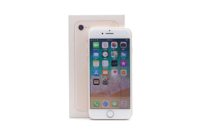 【台中青蘋果競標】Apple iPhone 8 金 64G 4.7吋 蘋果手機 瑕疵機出售 有受潮紀錄 #39839
