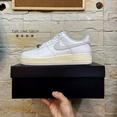 NIKE AIR FORCE 1 AF1 1-800 Toll Free 夜光 反光 白色 奶油底 CJ1631-100