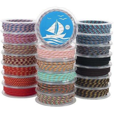 滿兩件售優享家旗艦店 OAR玉米結手鏈粗款項鏈繩珠寶玉線手繩穿飾品的自編織繩diy材料包