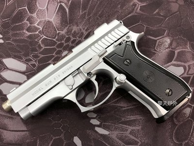 擎天戶外 金牛座 PB 915 銀色 鋼鐵管版本 JP PB NB FS 操作槍 非道具槍 銀色 9MM 只賣最便宜