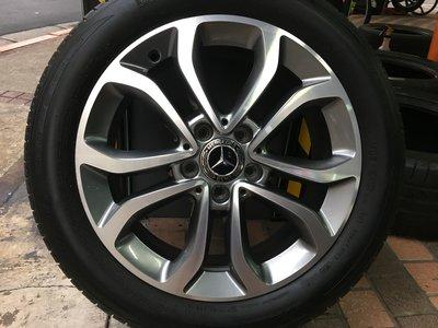 賓士 原廠17吋鋁圈含胎 Benz w117 w176 w246 w204 w205 w207 w212 w220