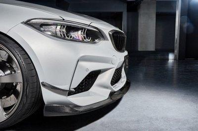 ✽顯閣商行✽日本 3D design BMW F87 M2 Competition 碳纖維前保定風翼 側定翼 風刀