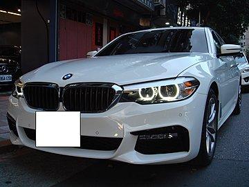 [大洋汽車]總代理BMW530I M版白色2017年車美狀況極佳