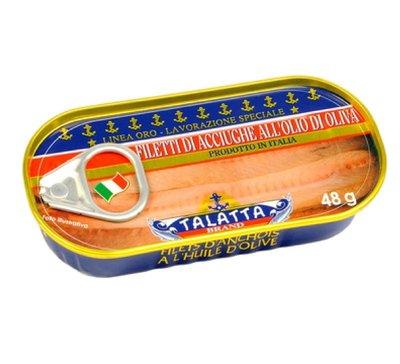 TALATTA 小鯷魚 48g 罐頭 *水蘋果* L-155