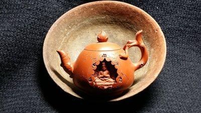 【準提坊】十多年前武夷山收藏的百年老茶碗 徑約159mm*h53.5mm 古老味..