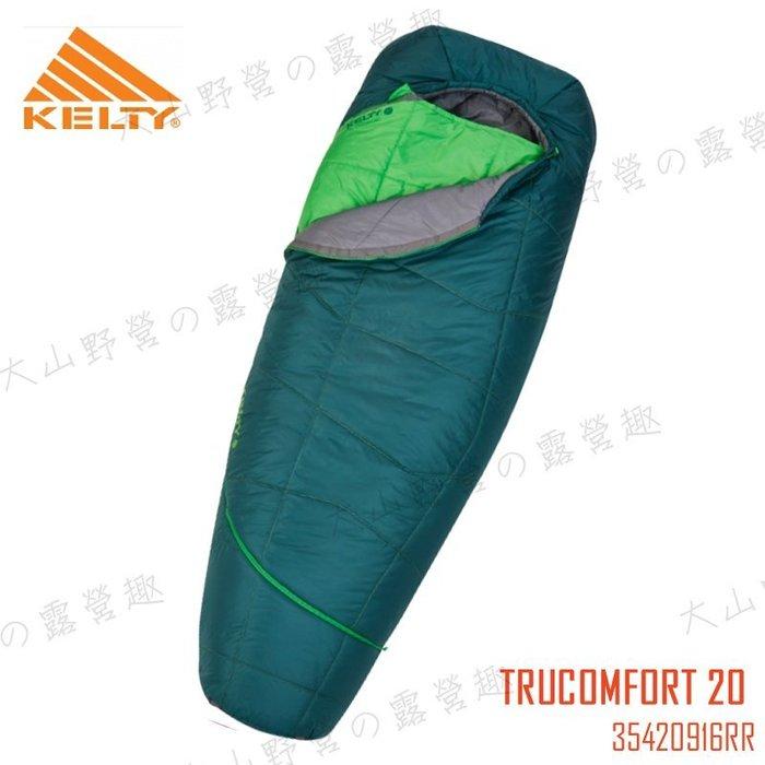 【福利品特價】KELTY 35420916RR TRUCOMFORT 20 DEG -7度保暖睡袋 纖維睡袋