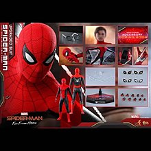 Hot toys Spiderman Upgrade suit (15/7單)