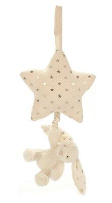 英國 JELLY CAT Bashful Twinkle Bunny musical star pull (預購)