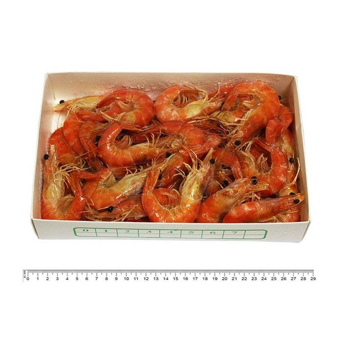 冷凍熟白蝦 1kg±15%/盒 31-40隻 冷凍海鮮