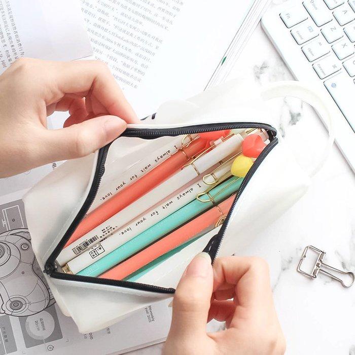 MY#爆款#創意 簡約 鉛筆盒初中學生大容量筆袋日韓國男女孩文具盒學習用品