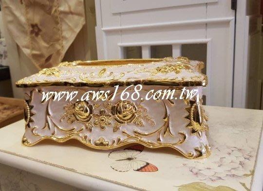 奢華風面紙盒.餐廳用品.裝飾.擺飾.民宿