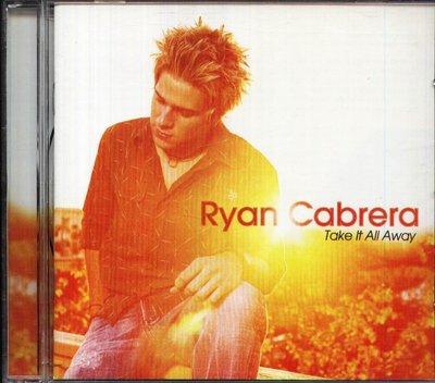 八八 - Ryan Cabrera - Take It All Away