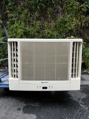 2手日立雙吹冷氣1.2噸適用5-6坪 台北市