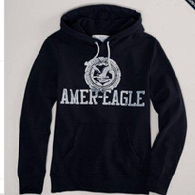 (BJGO) AMERICAN EAGLE_男裝_AE WINTER BREAK FLEECE 美國老鷹連帽上衣/帽T