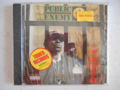 Public Enemy - It Takes a Nation of Millions to Hold 進口美版 全新