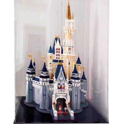 樂.高71040 迪士尼城堡展示盒LEGO積木拼裝玩具模型防塵罩防塵盒#展示盒 #手工 #diy #模型 #娛樂