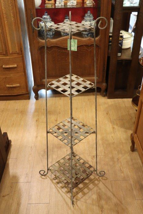 【卡卡頌 OMG歐洲跳蚤市場 / 西洋古董 】歐洲 老件 鐵 花架 三層架 m0263✬