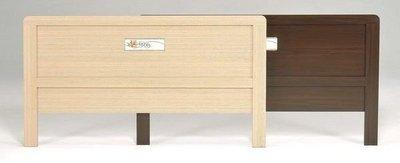 桃園國際二手貨中心 --- 居家好幫手 --- 標準雙人床頭片 共雙色可選 (白橡色+胡桃色)