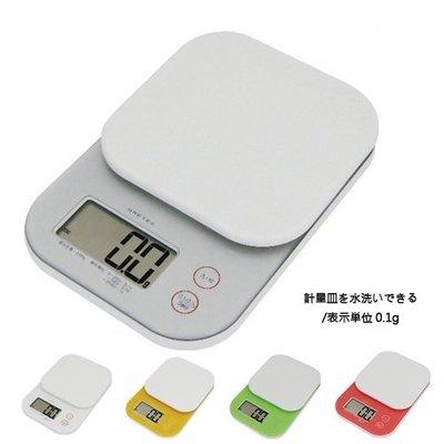 【無敵餐具】日本DRETEC Jelly 可卸式電子料理秤 2kg/0.1g KS-243WT【Q-01】