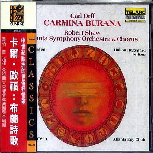 卡福歐福:布蘭詩歌 Carl Orff: Carmina Burana / 羅伯蕭 Robert Shaw --- 80056